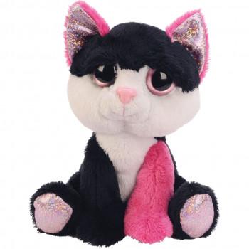Fun Li'l Peepers Black & pink Cat Small