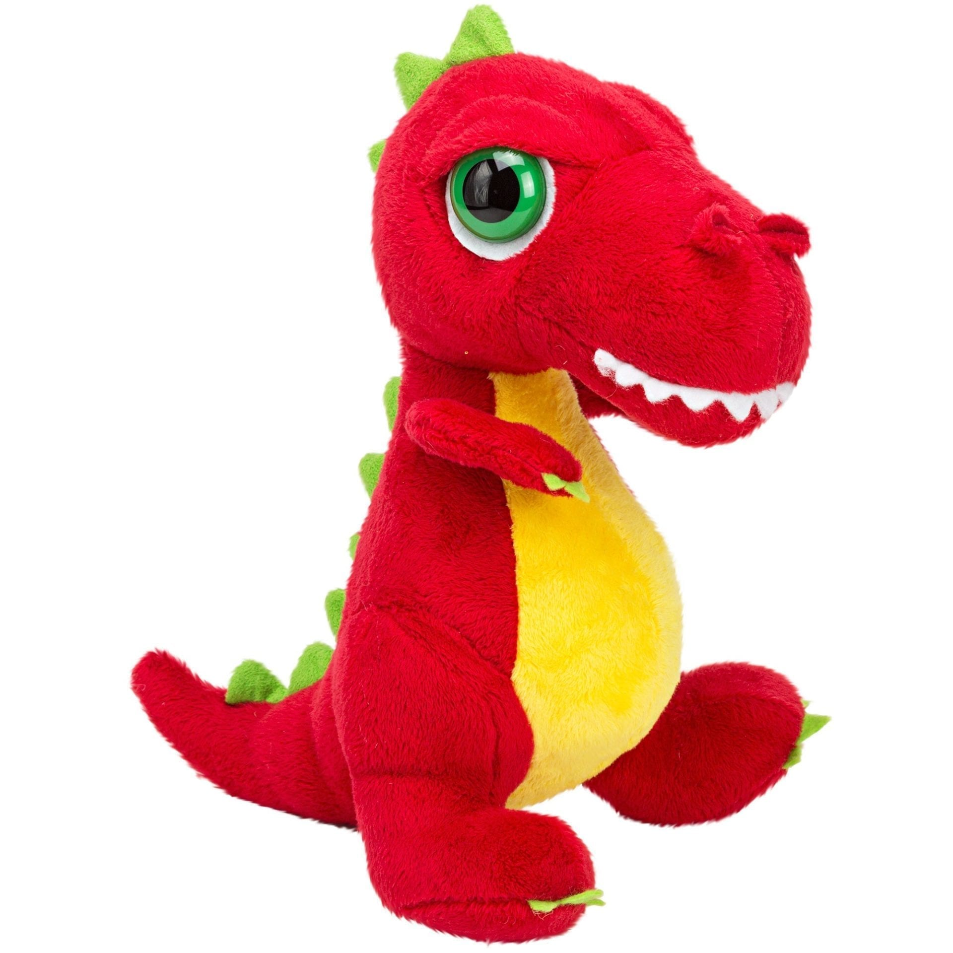 Suki Soft Dino'z Red & Yellow T-Rex Medium