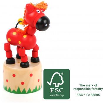 legler small foot druecktier Pferd FSC