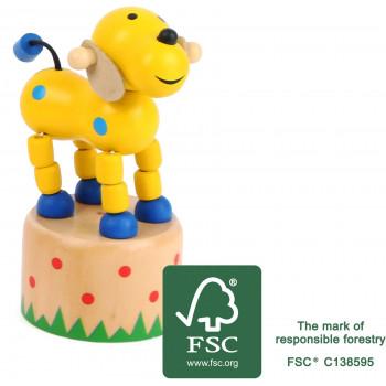 legler small foot druecktier Hund FSC