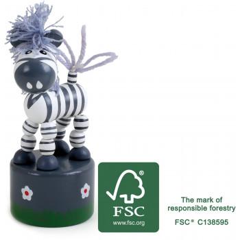 legler small foot Druecktier Zebra FSC