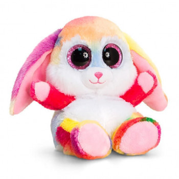 Keel Toys cm Animotsu Rainbow Rabbit hhh