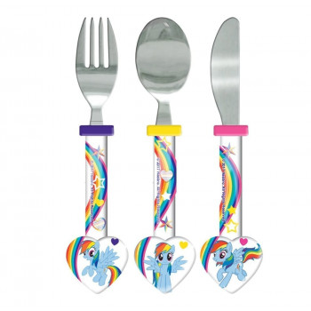 My Little Pony  Piece Multi Colour Cutlery Set