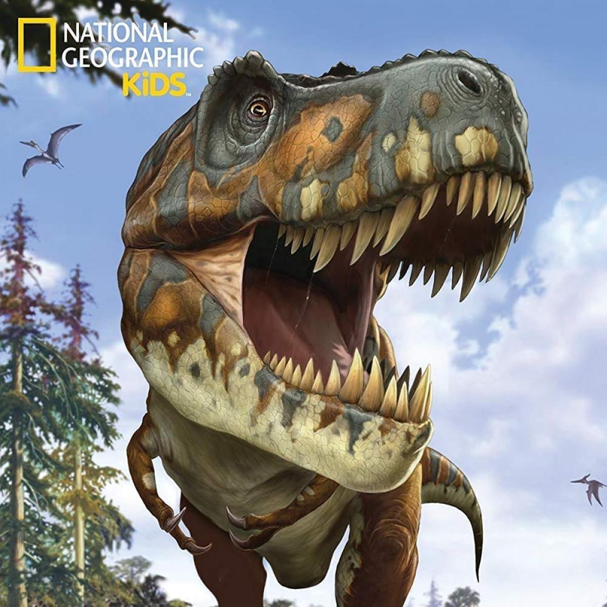 National Geographic Kids Super Tyrannosaurus Rex D Puzzle  Piece