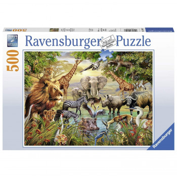 Ravensburger Animals at the Waterhole pc Jigsaw Puzzle