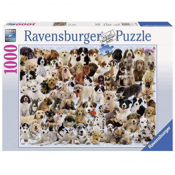 Ravensburger Dogs Galore  Piece Jigsaw Puzzle