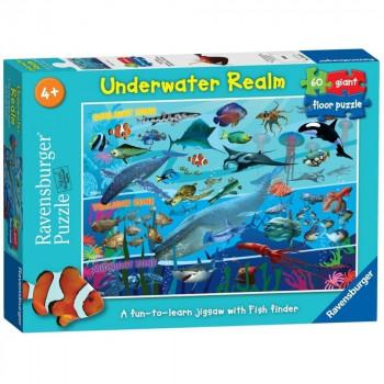 Ravensburger Underwater Realm  Piece Giant Floor Jigsaw Puzzle