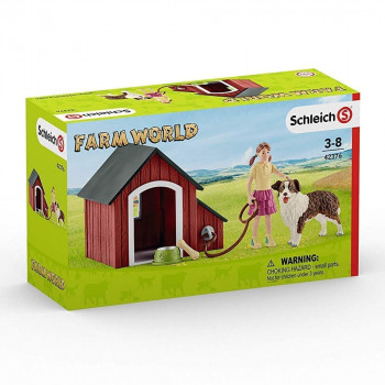 Schleich Dog Kennel