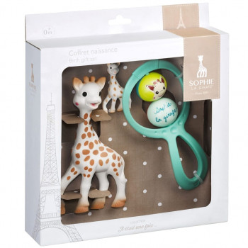 Sophie the Giraffe by Sophie la girafe Newborn Gift Set gggg