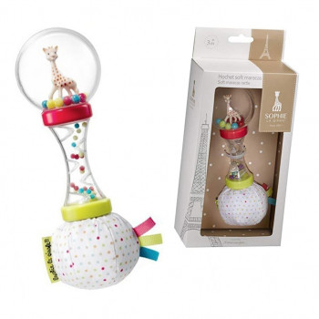 Sophie the Giraffe by Sophie la girafe Soft Maracas Rattle gggg
