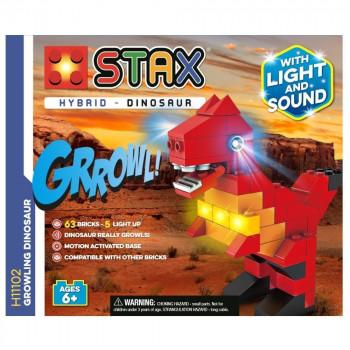 Stax Hybrid Growling Dinosaur