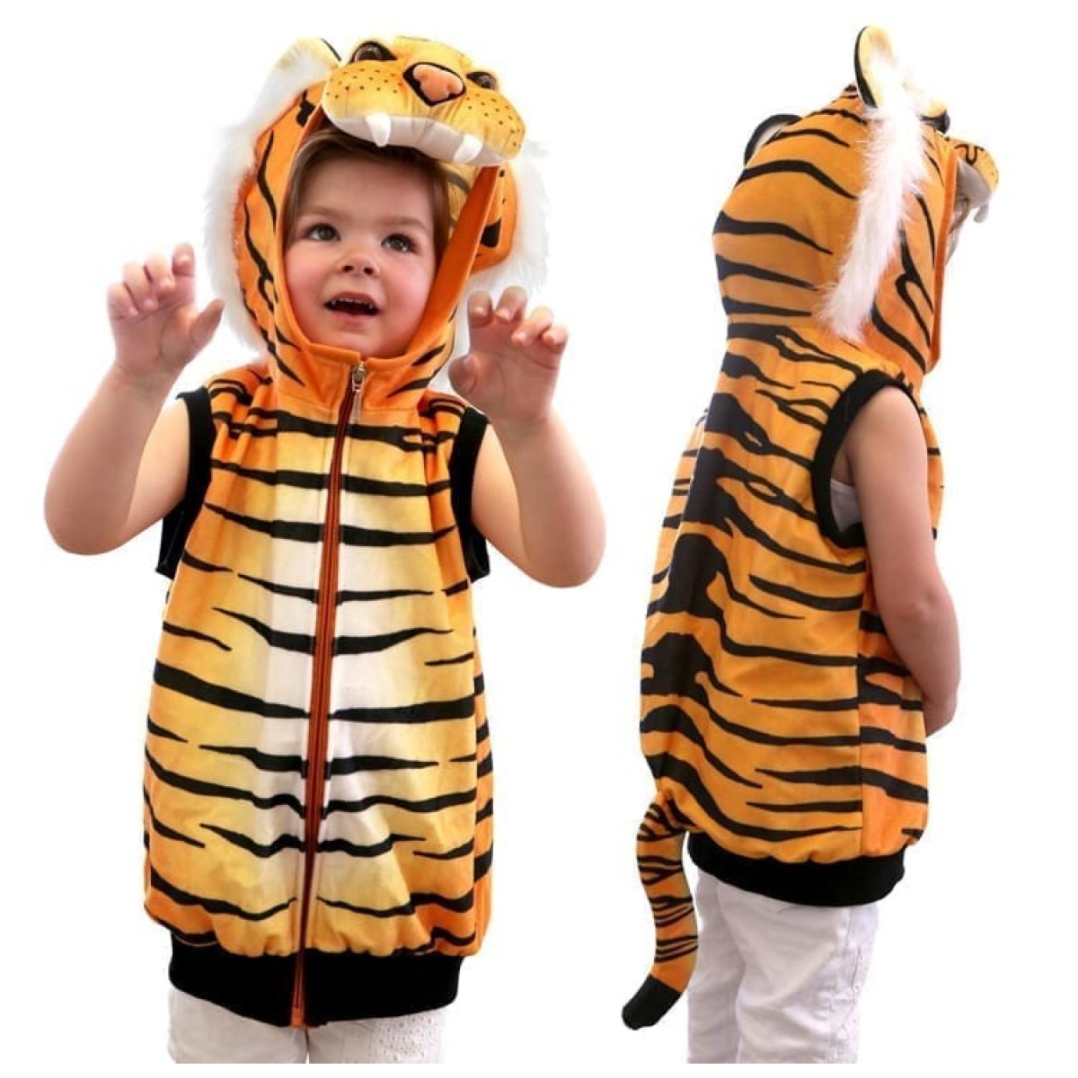 Tiger Costume Vest