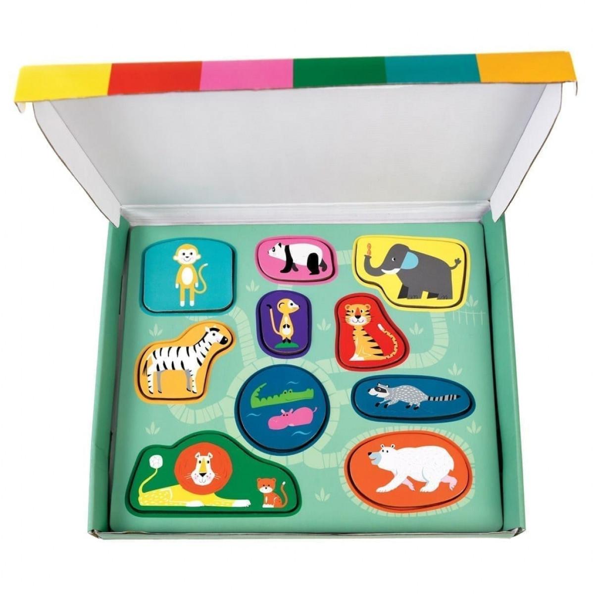 animal pack macthing puzzle