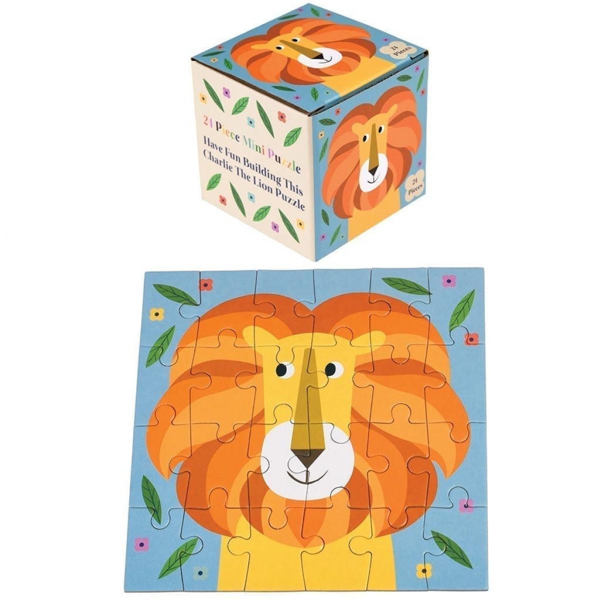charlie the lion mini puzzle