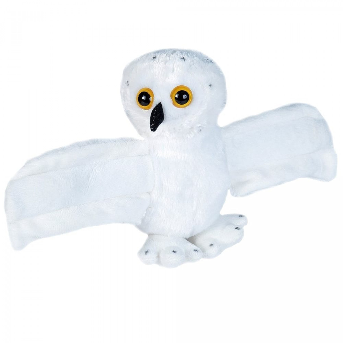 hugger snowy owl