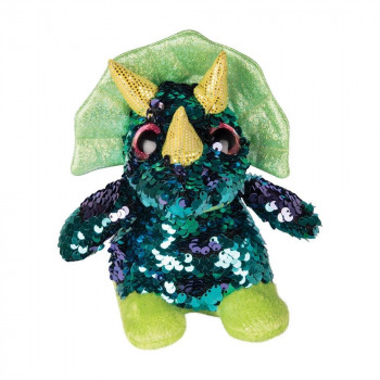 Sequin Triceratops Small