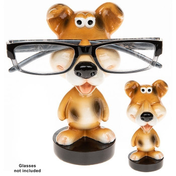 Wobble Head Specs Holder Dog