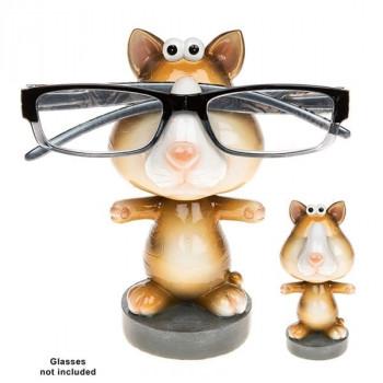 Wobble Head Specs Holder Cat