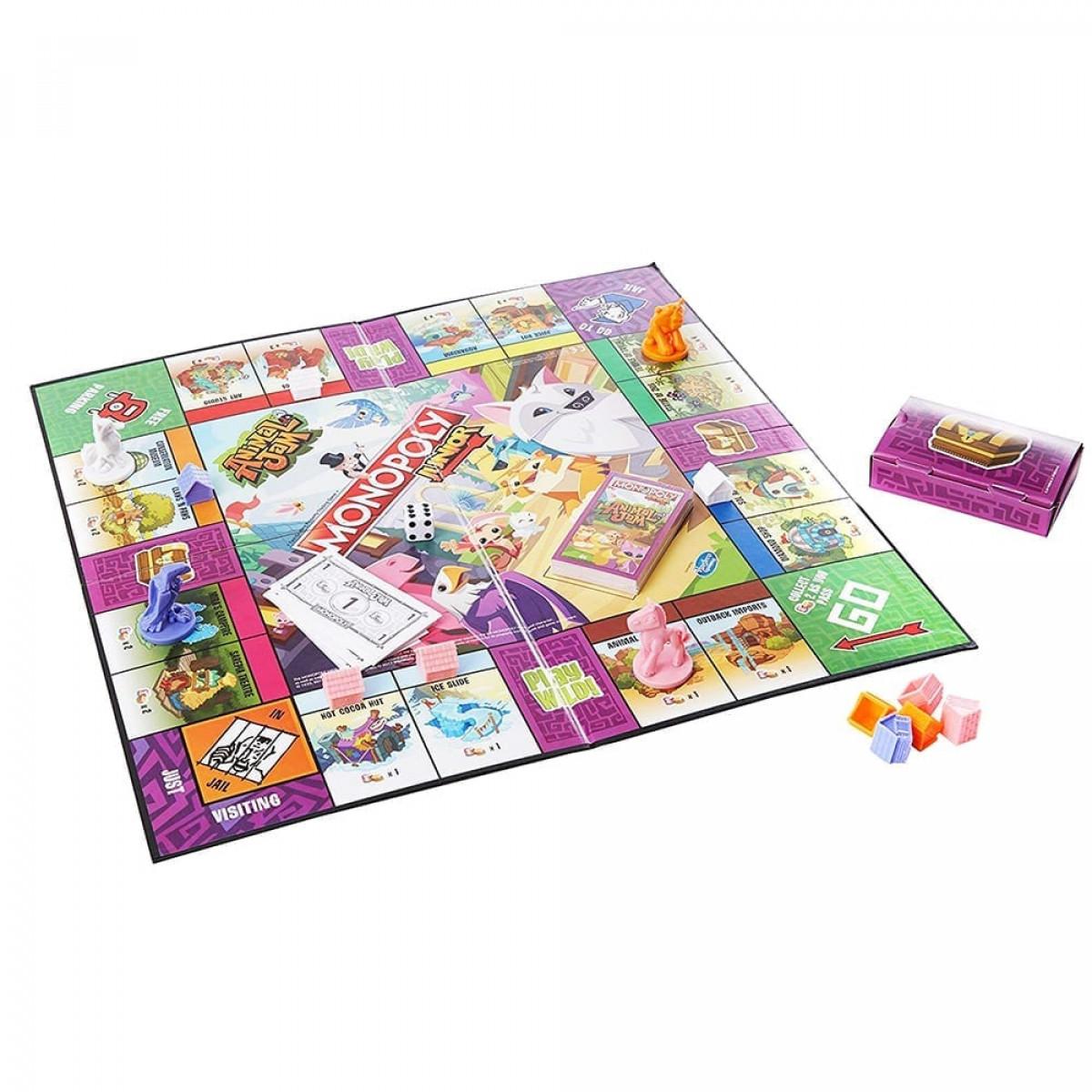 Monopoly Junior - Animal Jam - Animal Toy Shop