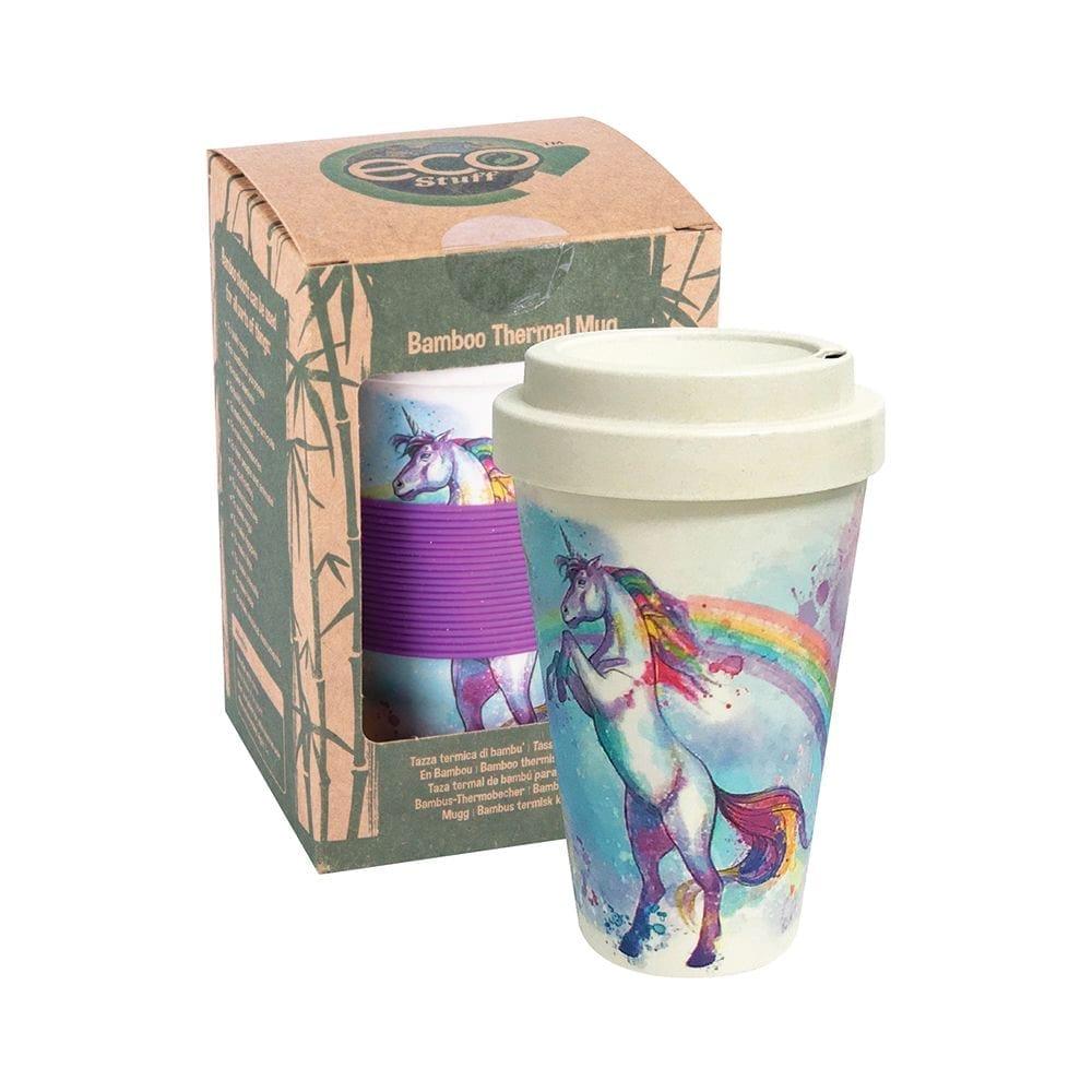 Unicorn Bamboo Travel Mug