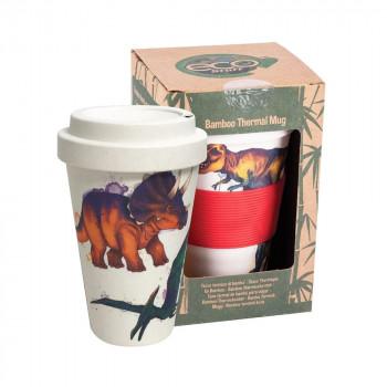 Dinosaur Bamboo Travel Mug