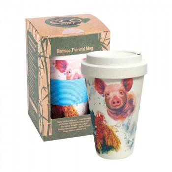 Farm Bamboo Travel Mug