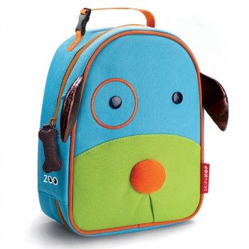 Zoo Lunchie Insulated Kids Lunch Bag Dog