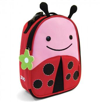 Zoo Lunchie Insulated Kids Lunch Bag Ladybug